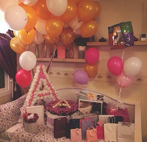 A Balloons Birthday Flowers Gifts Surprise