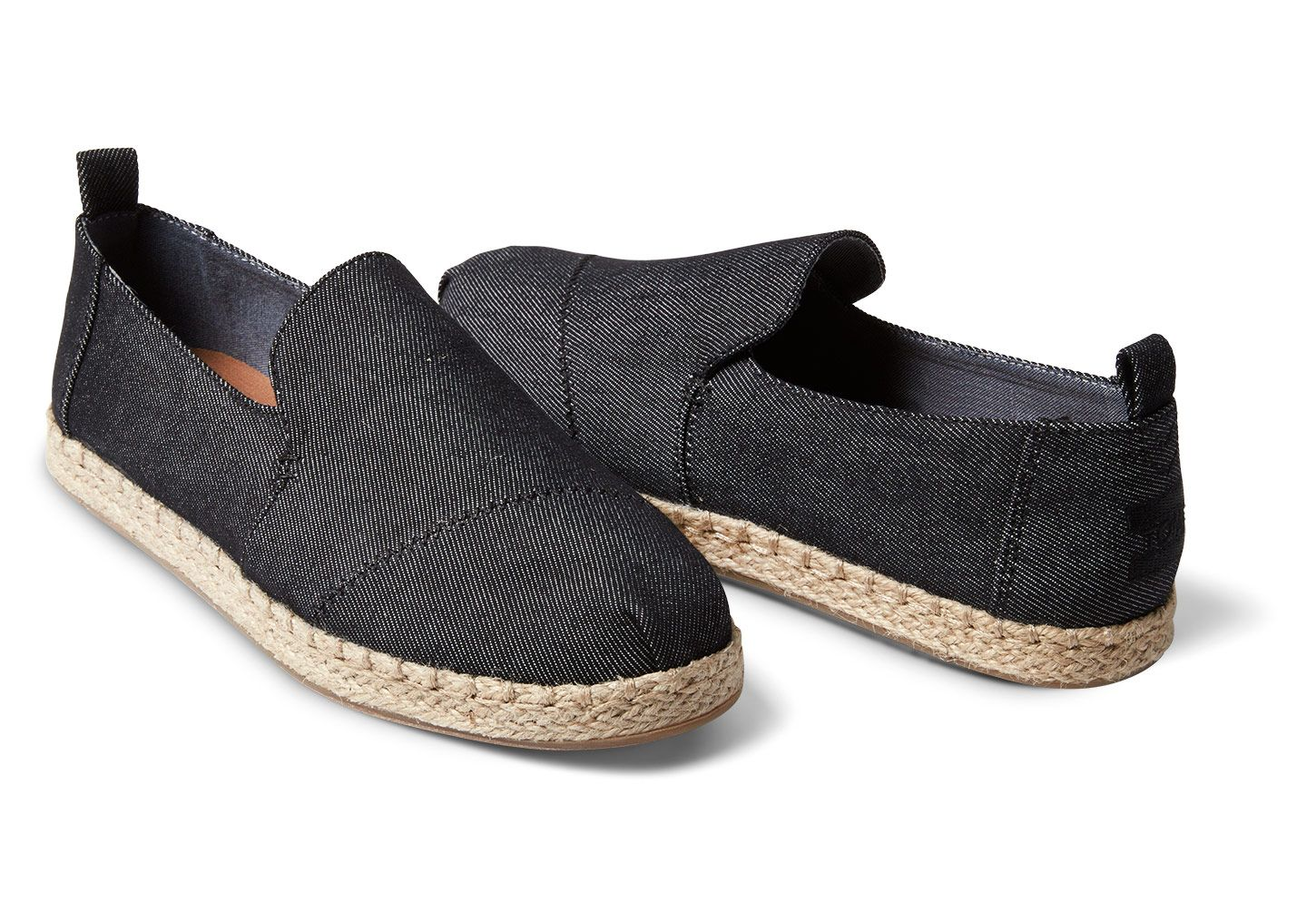 a2d095cbf3e Black Denim Women s Deconstructed Alpargatas