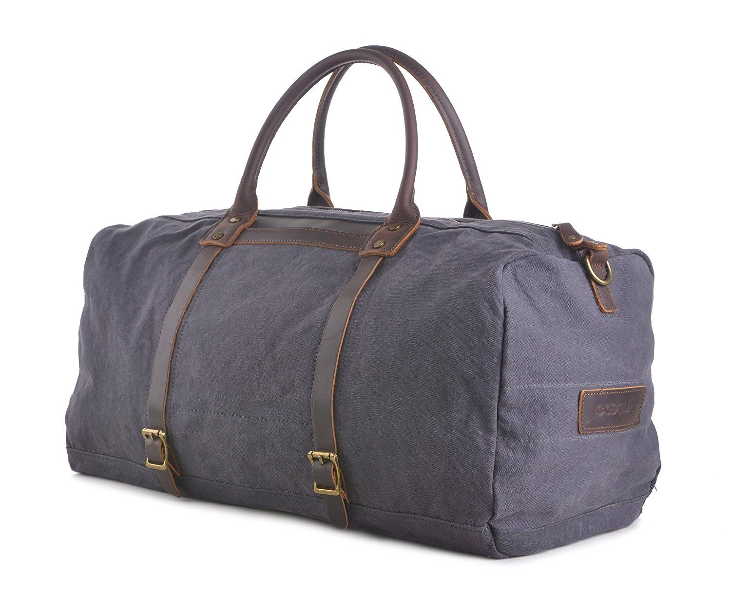 a5d8fcc356 Gootium Oversized Vintage Canvas Duffel Bag Travel Tote Sports Gym Bag  Weekend Bag   Read more at the image link. (This is an Amazon Affiliate  link and I ...
