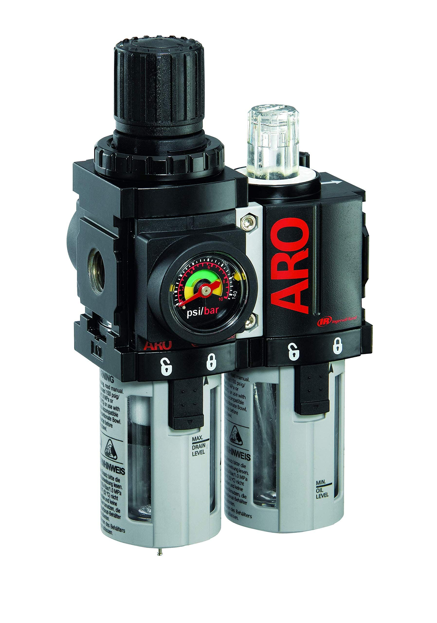 ARO C38341600VS Air FilterRegulatorLubricator