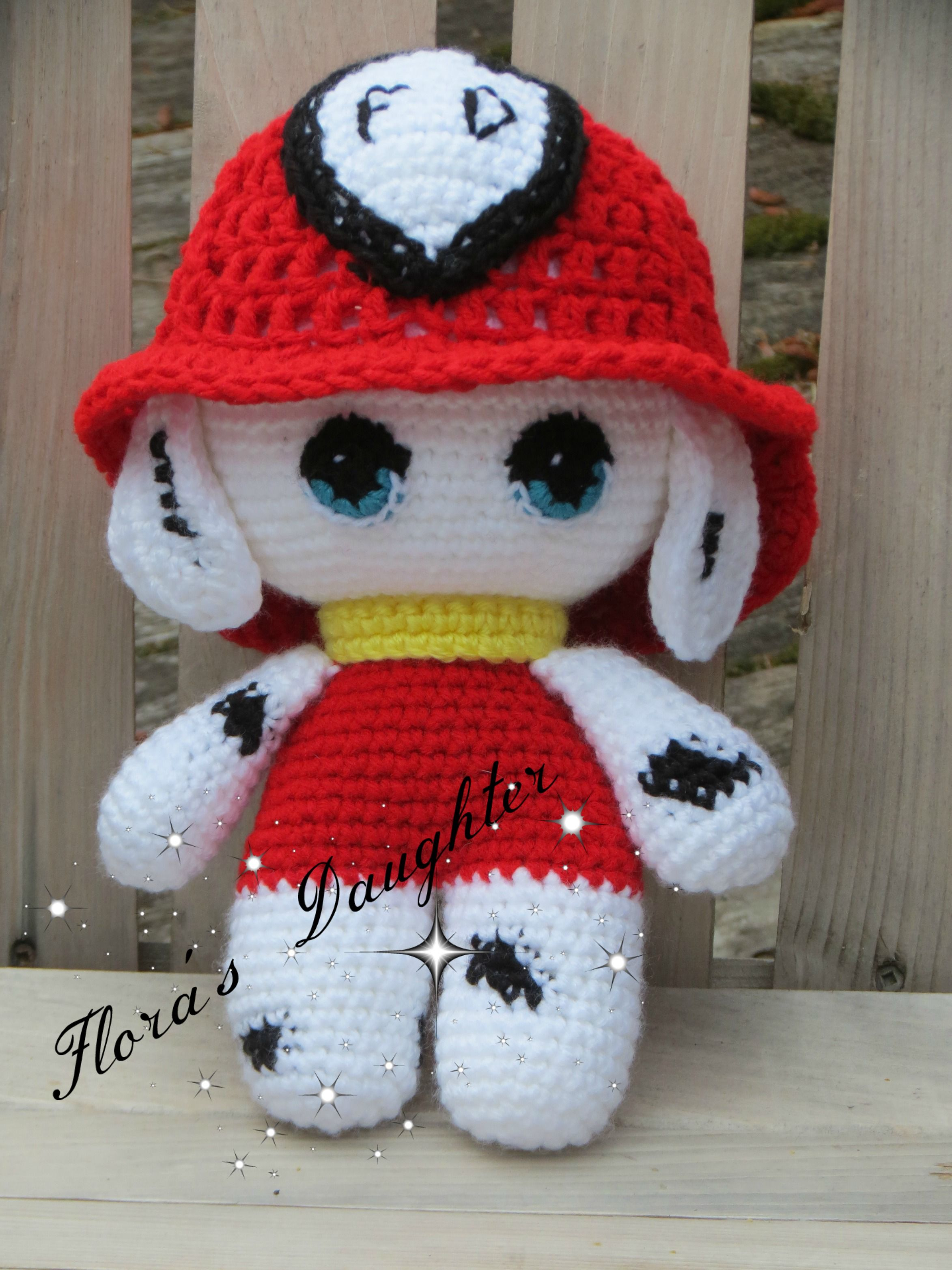"""Big Head Doll """"Fire Station Dalmation"""" by Flora's Daughter ..."""