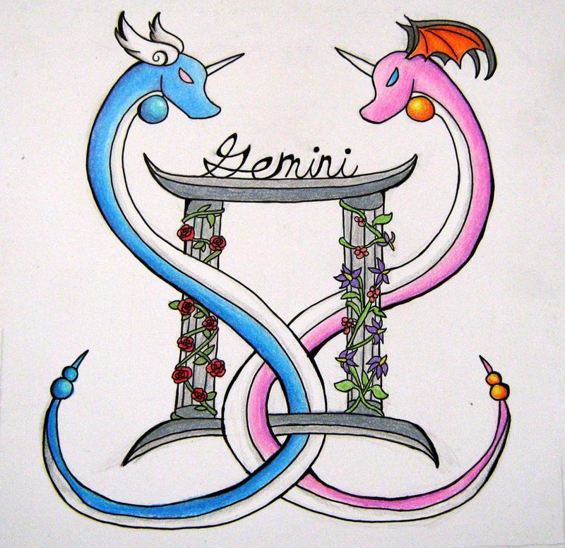 gemini dragon tattoos google search tattoos pinterest gemini elephant tattoo design. Black Bedroom Furniture Sets. Home Design Ideas