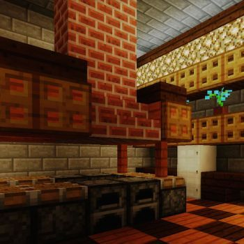 Minecraft kitchen also mcpe ideas pinterest kitchens rh