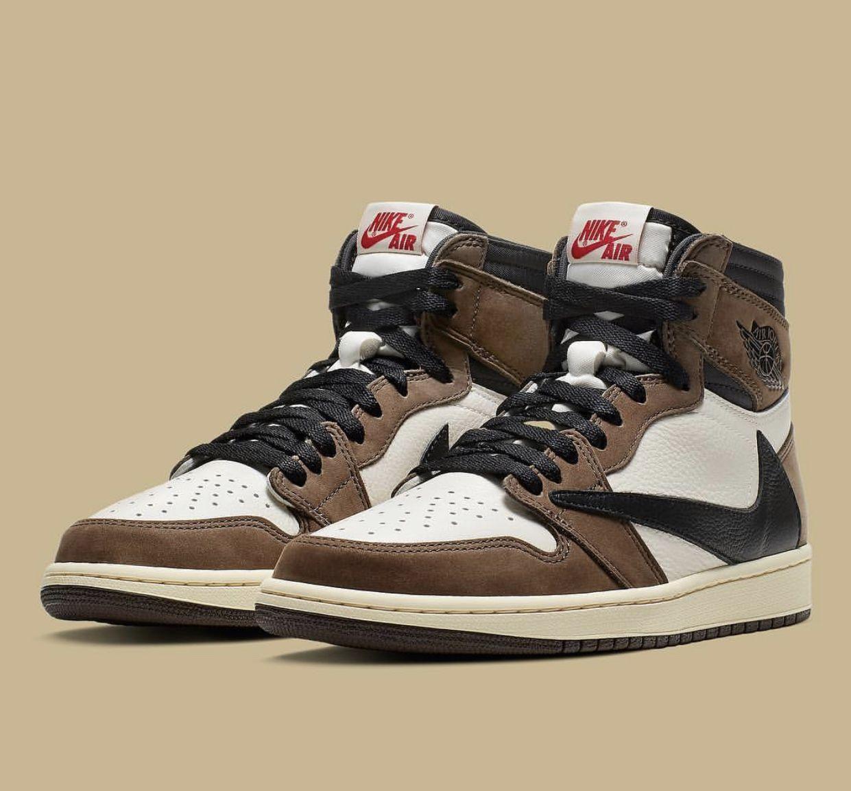 Travis Scott x Jordan 1 | Обувь