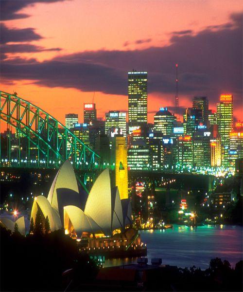 Sydney Travel Quotes: Night Beauty Of Sydney