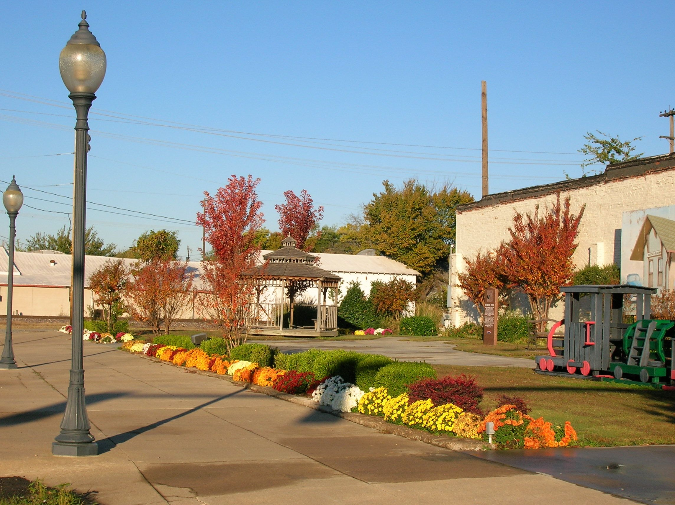 Small Town Center Oklahoma Pinterest Small Towns