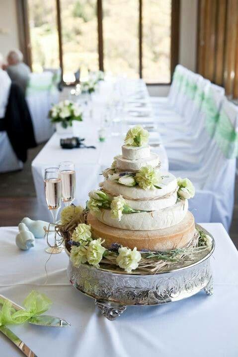 Cheese Wedding Cake, Amazing!