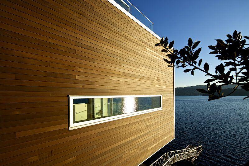 Tongue And Groove Cedar Siding Lake View Cedar Siding Modern Farmhouse Exterior Building Design
