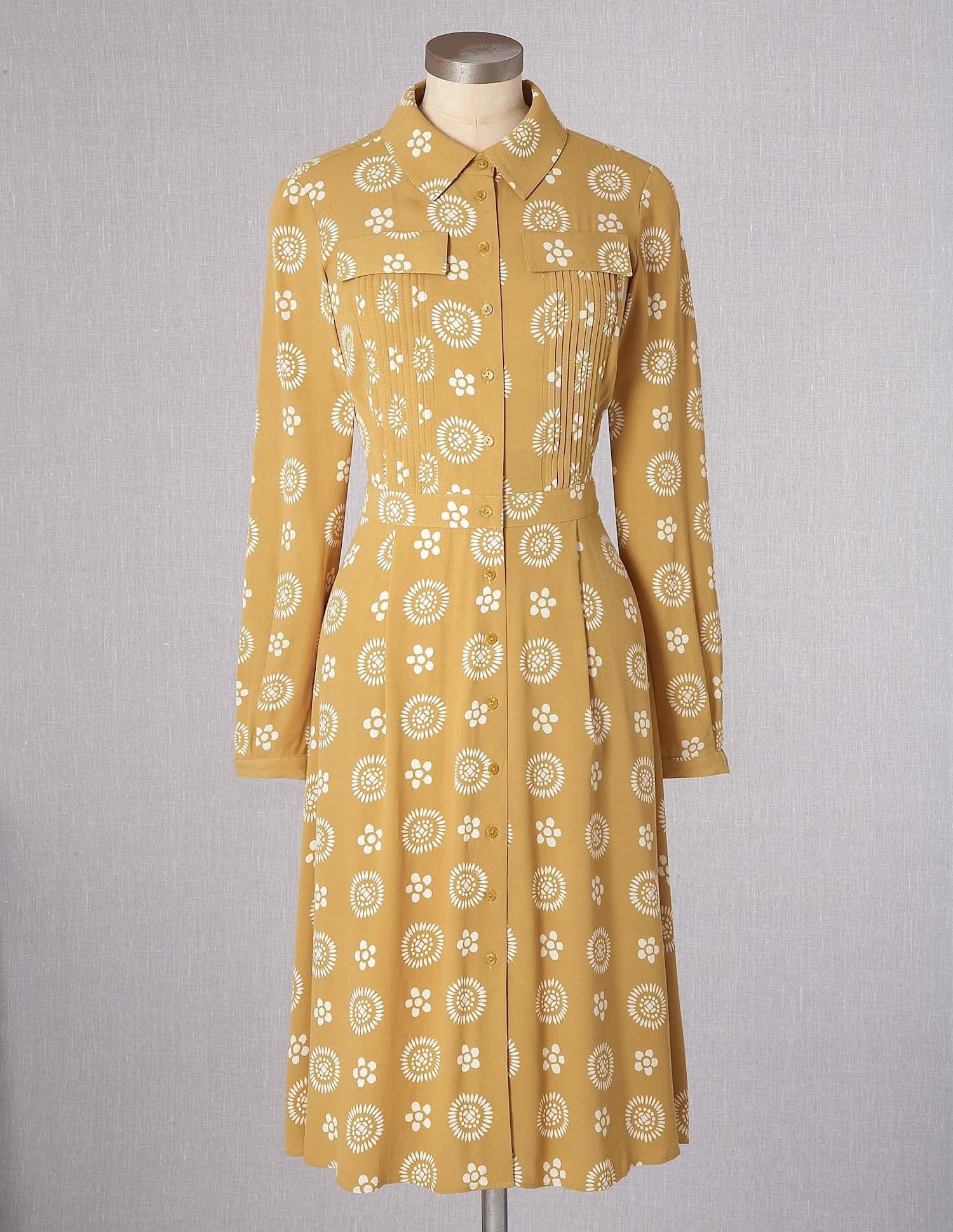 Vintage Shirt Dress Wh447 Below Knee Dresses At Boden My Style