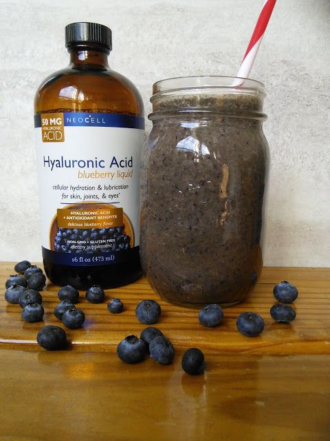 Discover why Blueberries Are A Runners New Best Friend and enter to win a bottle of delicious Neocell Hyaluronic Acid Blueberry liquid. #giveaway