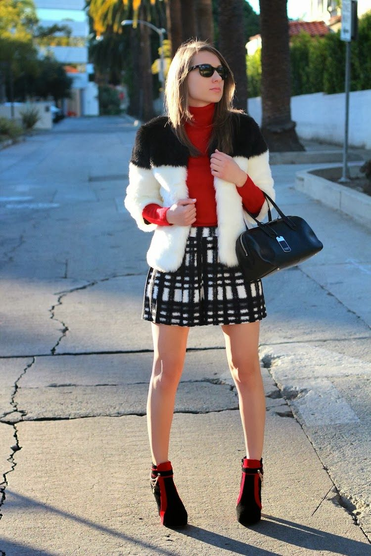 La by diana personal style blog by diana marks a pop of red