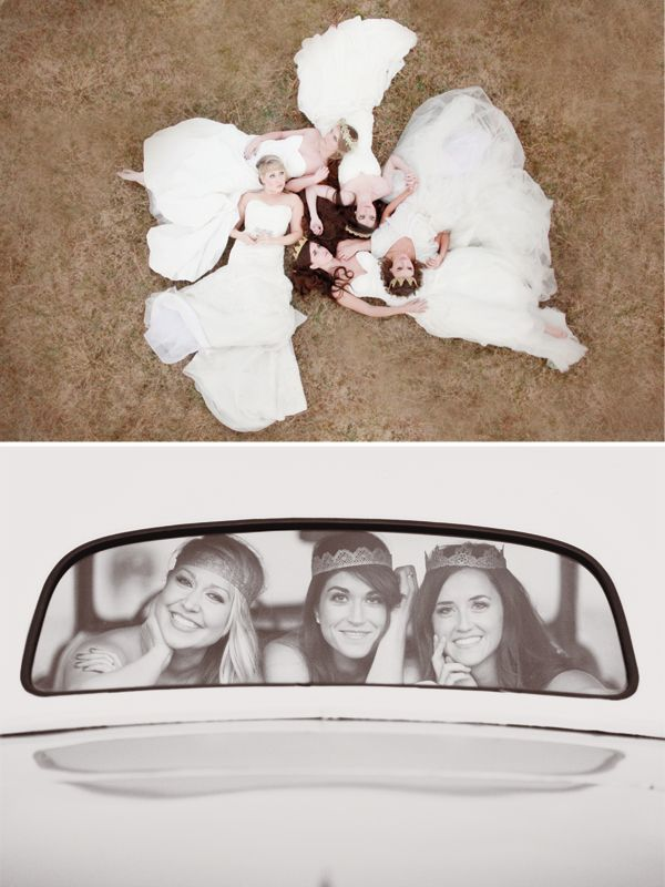 if only i could do a shoot with all my girlfriends in their wedding dresses!