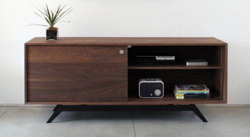 Credenza De Madera Moderna : Credenza radio art dpt muebles living