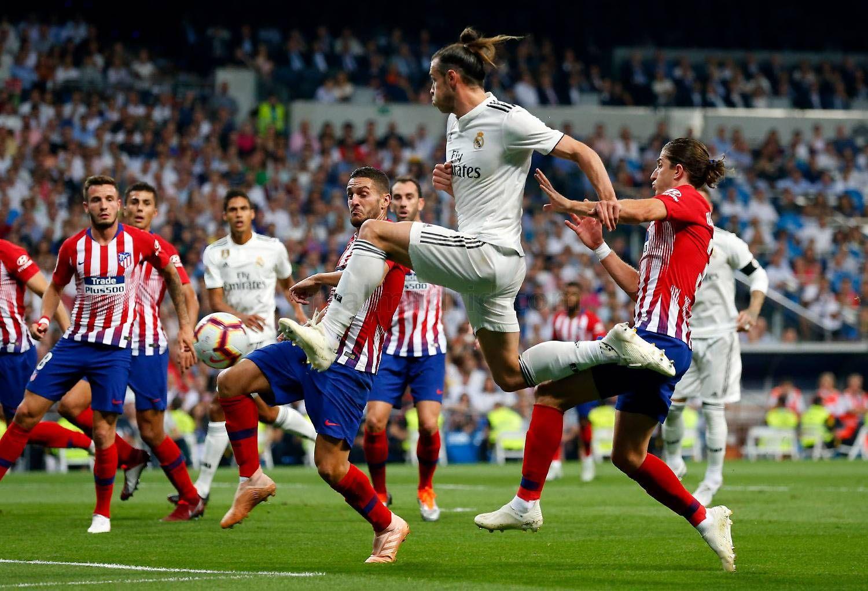 Gareth Bale La liga, Atlético madrid, Real madrid