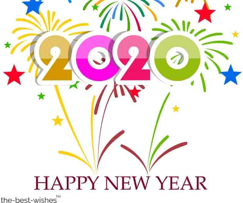 Happy New Year 2020 Wishes Quotes Messages [ Best Images
