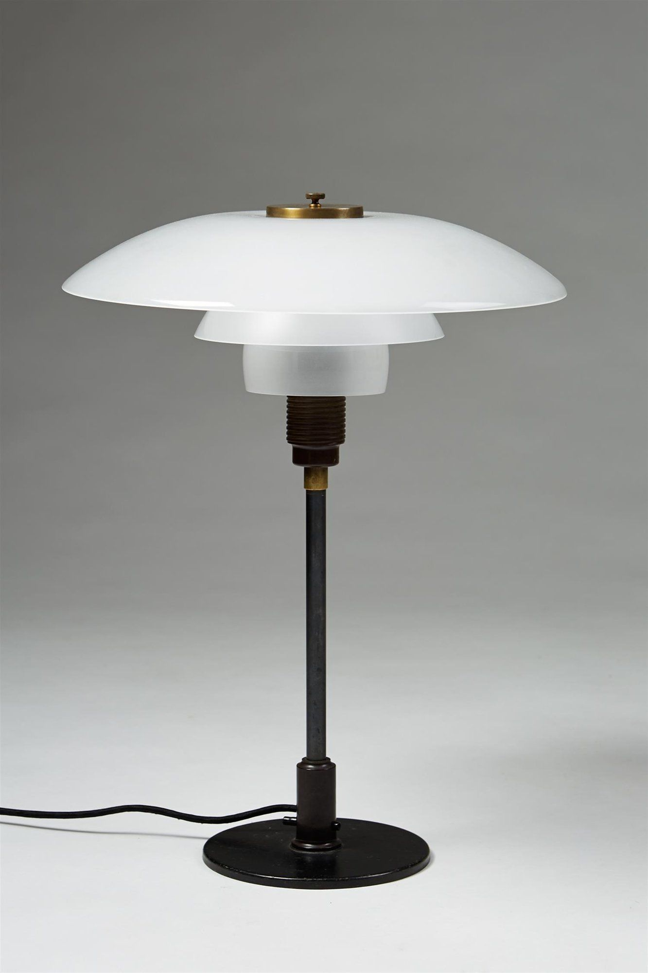 Table Lamp Ph 4 3 1930s Poul Henningsen For Louis Poulsen Denmark Antique Table Lamps Lamp Table Lamp