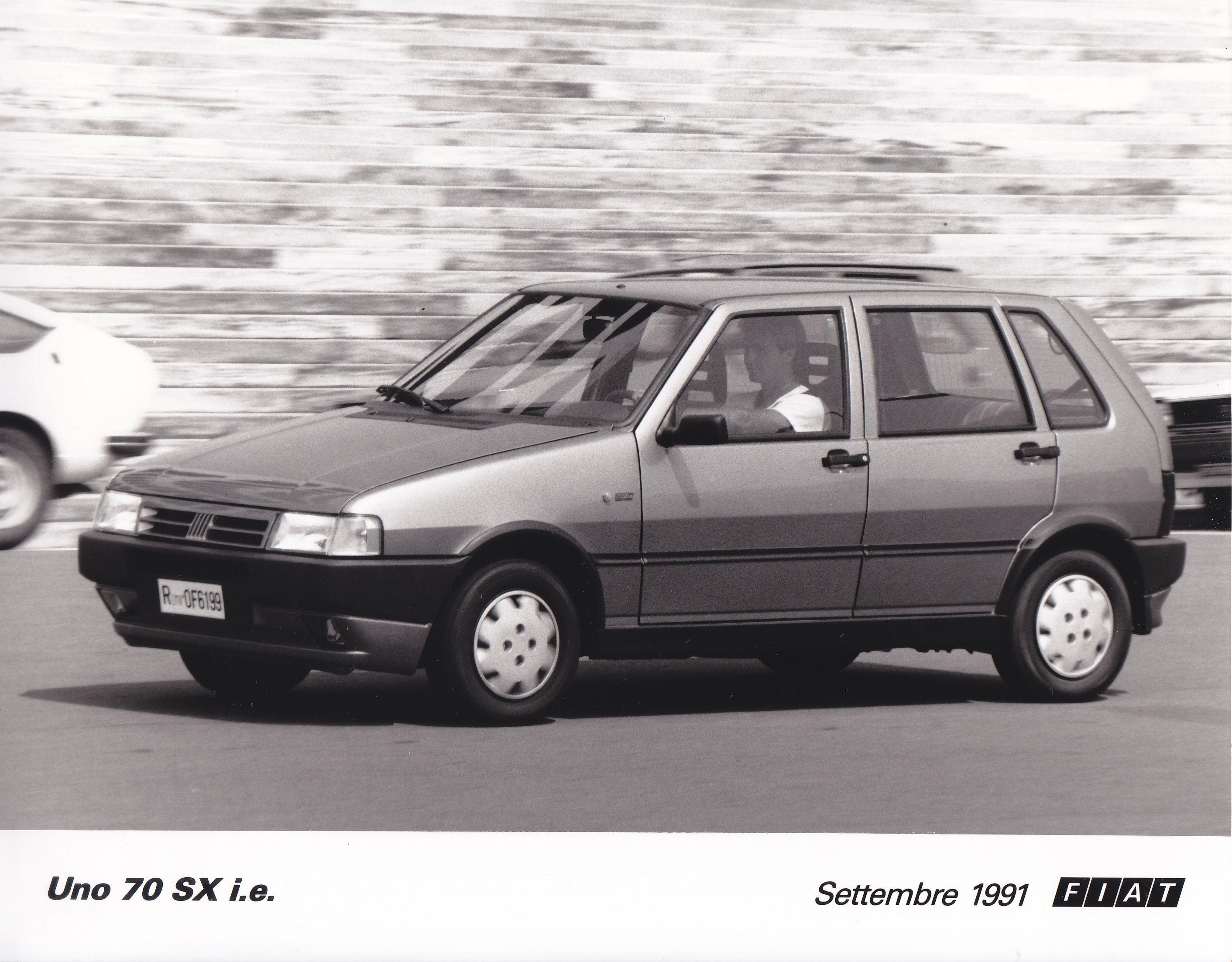 Fiat Uno 70 Sx I E Sept 1991