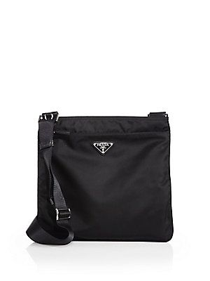 5c15b49a53 Prada Vela Crossbody Bag - Black