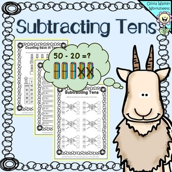 subtracting tens worksheets this is a set of  subtracting tens  subtracting tens worksheets this is a set of  subtracting tens black and  white printable worksheets the worksheets are designed to help children
