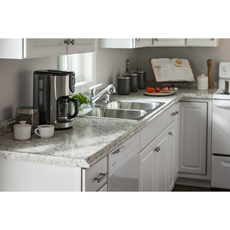 Shop Belanger Fine Laminate Countertops Formica 10 Ft Ouro Romano Etchings Miter Laminate Countertops Kitchen Countertops Laminate Formica Kitchen Countertops