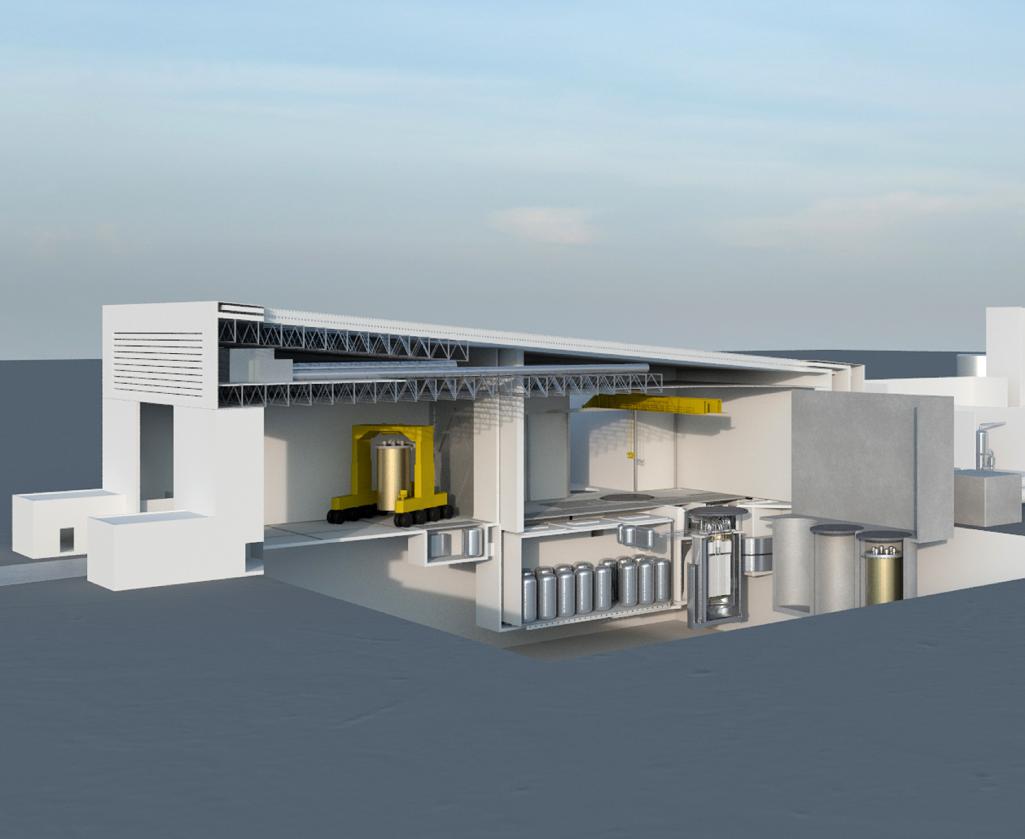 Nuclear Island Of Integral Molten Salt Reactor