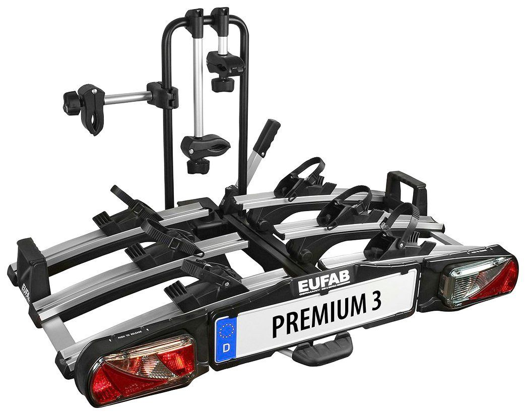 Fahrradtrager Premium 3 Fur Die Anhangerkupplung Abschliessbar