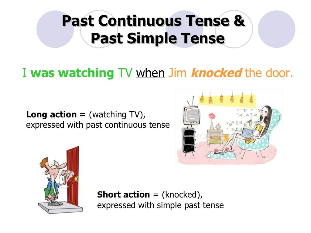 Past Continuous Tense Amp Past Simple Tense