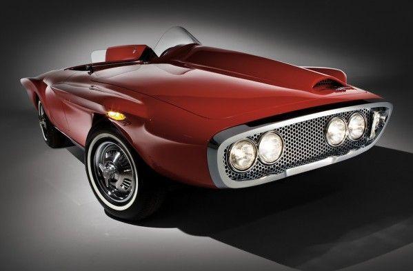 1960 Plymouth Xnr Concept Car Concept Cars Concept Car Design