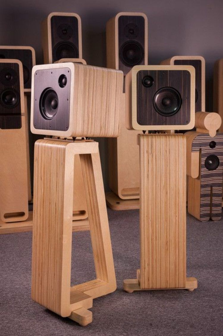 50+ Great DIY Speaker Stand Ideas that Easy to Make in