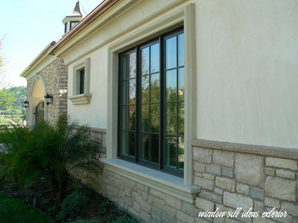 9 window sill ideas exterior in 2020 window trim