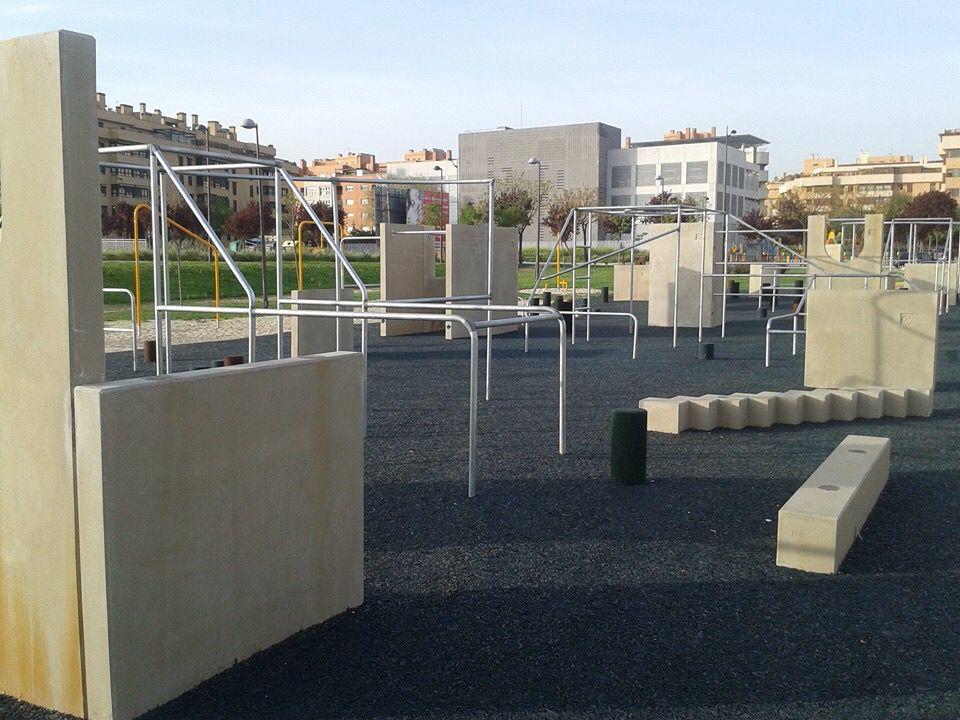 Getafe parkour and calisthenic park skoleg rd for Calle jardines getafe