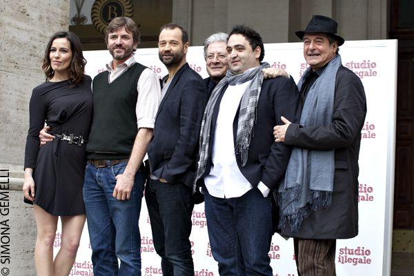 Studio Illegale: due chiacchiere sul film di Umberto Carteni con Fabio Volo, Zoe Felix e Ennio Fantastichini.