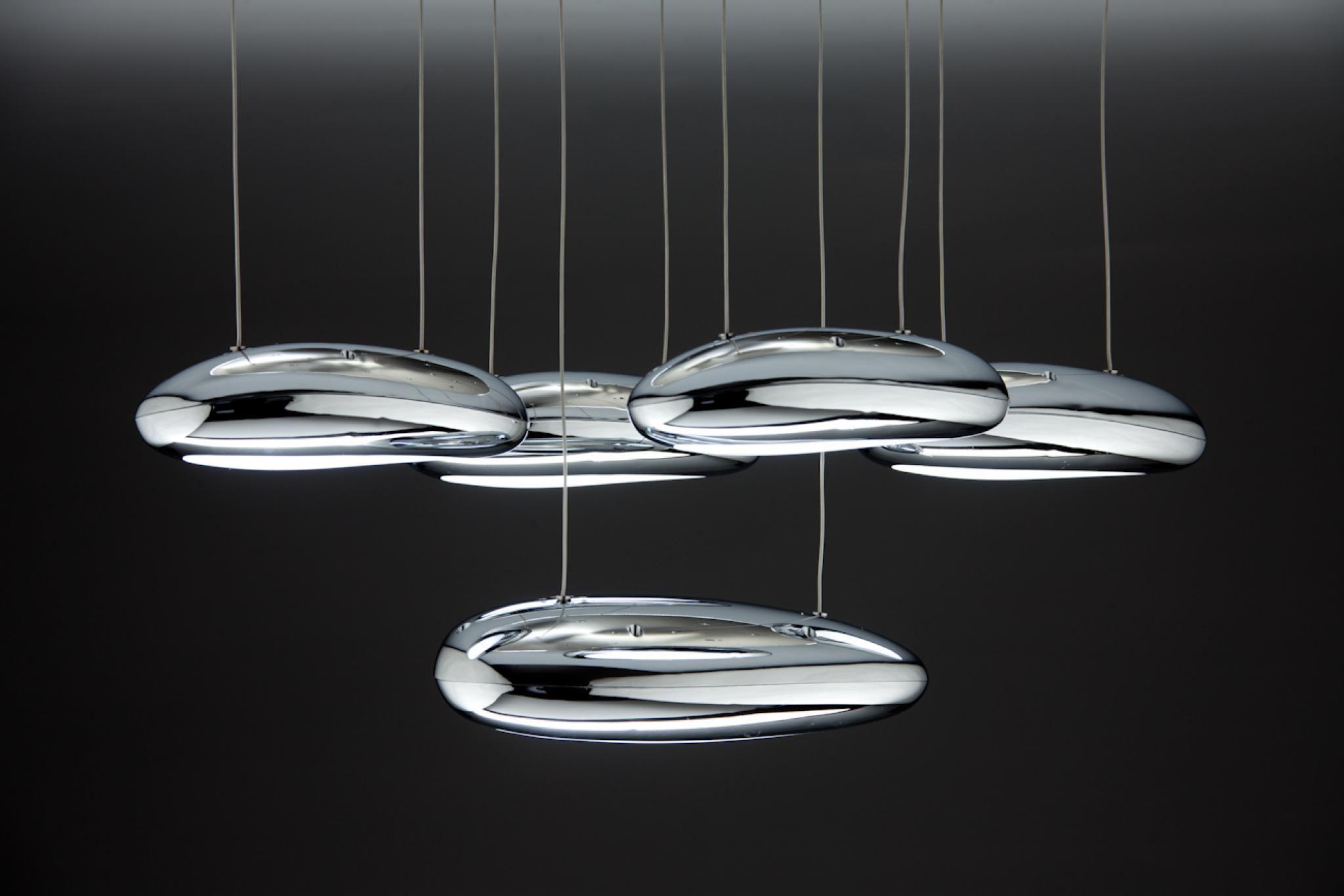 Drop Design 5B Lampadario a Sospensione Led Salotto Moderno ...
