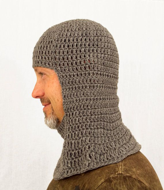 Medieval Knight Chainmail Coif Hat in all sizes by ...