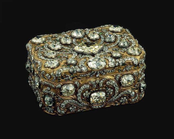 King Joseph's Jewelry Box Circa 1756 #AntiqueJewelry #Gold