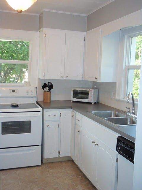 89 Kitchen Remodel Cheap Quick Remodel To Fix Colors Of Cabinets Walls And Counter Tops