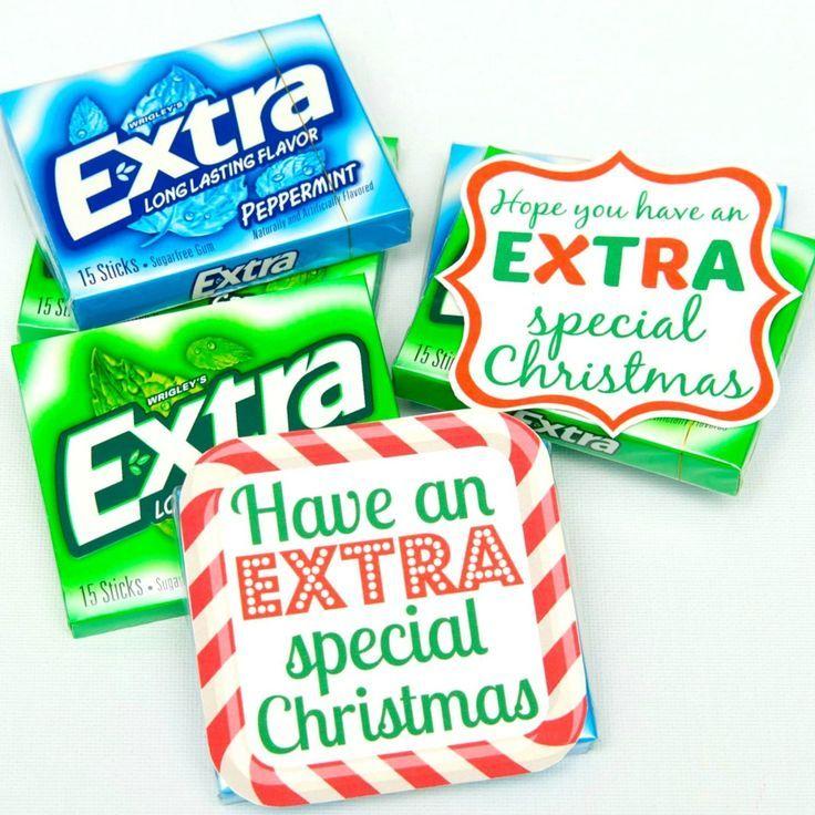 GiveExtraGum Weihnachtsgeschenk Idee druckbar #christmasgift ...