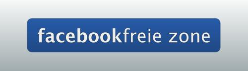 Duitse website/blog verklaart zich: Facebookfreie Zone. Geen Like/share/comment bo, nieuwe trend of niche marketing?
