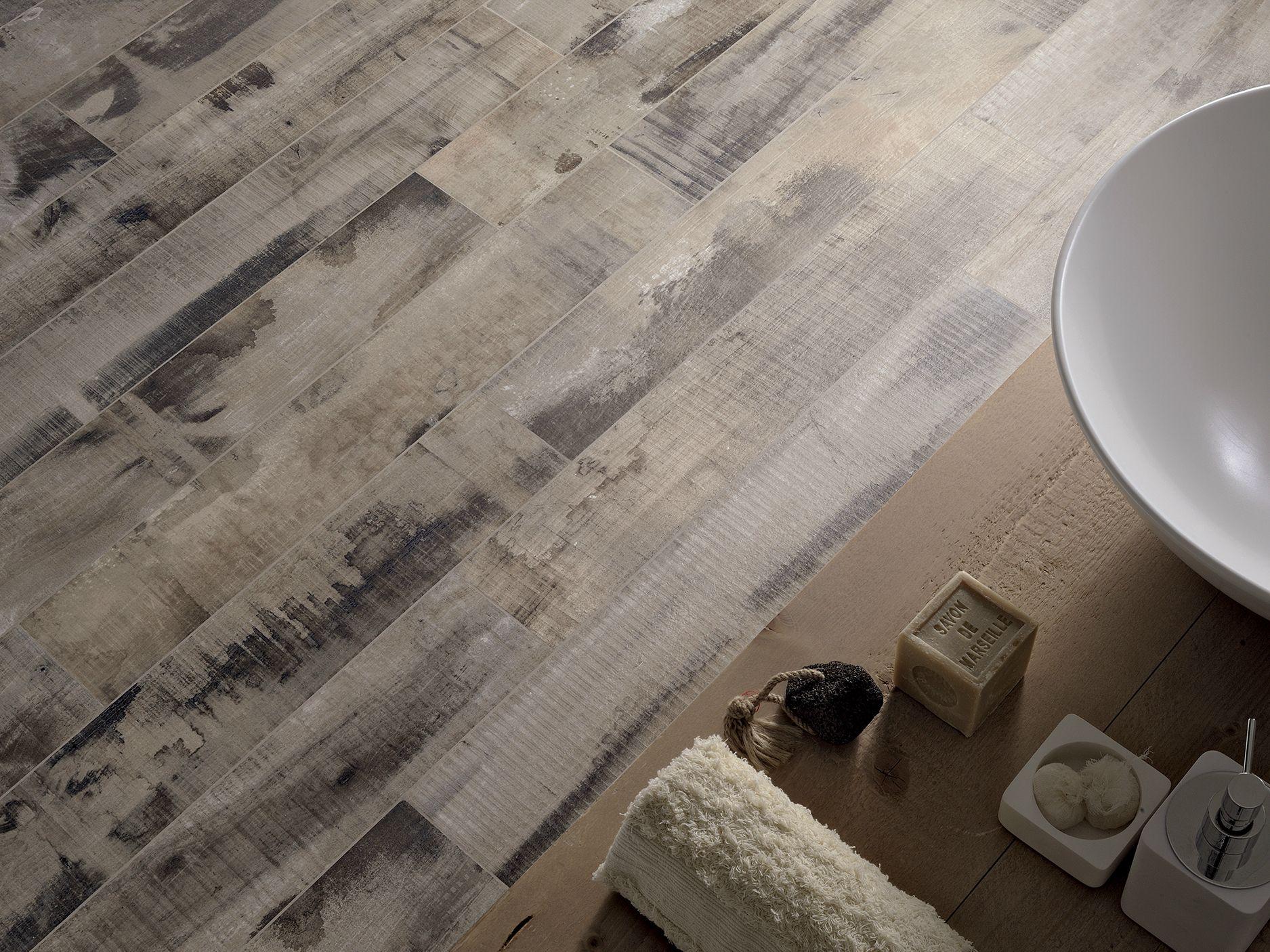 Revestimiento de suelo de gres porcel nico imitaci n - Suelo gres imitacion madera ...