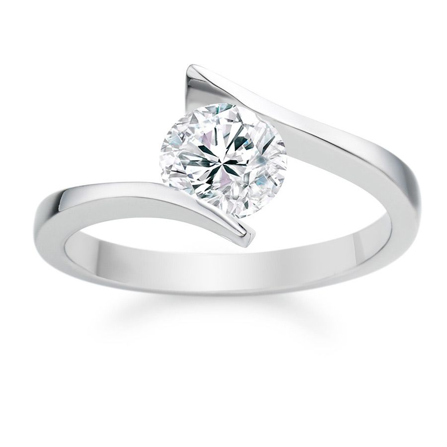 cut rings shoulders grain ring diamond set engagement with platinum princess