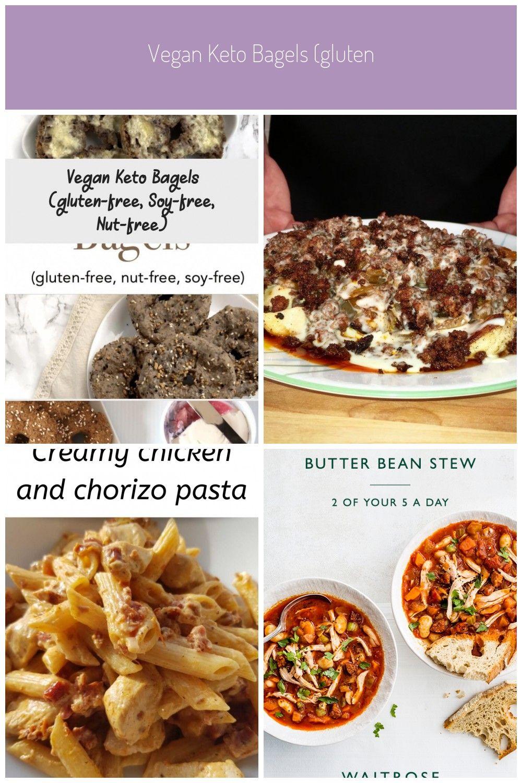 Vegan Keto Bagels (glutenfree, soyfree, nutfree) Meat