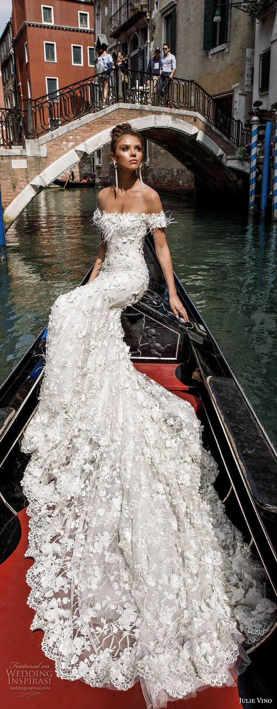 Julie vino spring wedding dresses u ucveneziaud bridal collection