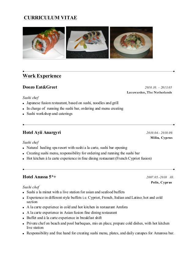 japanese resume pdf