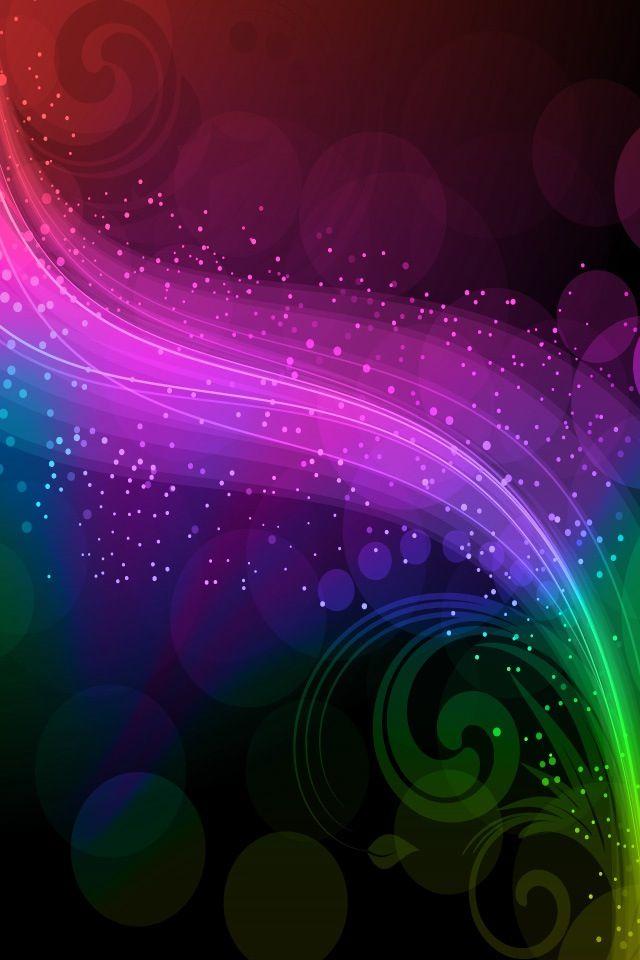 Spectrum of time in color wallpaper backgrounds for smartphones in 2019 fractals fractal - World of color wallpaper ...