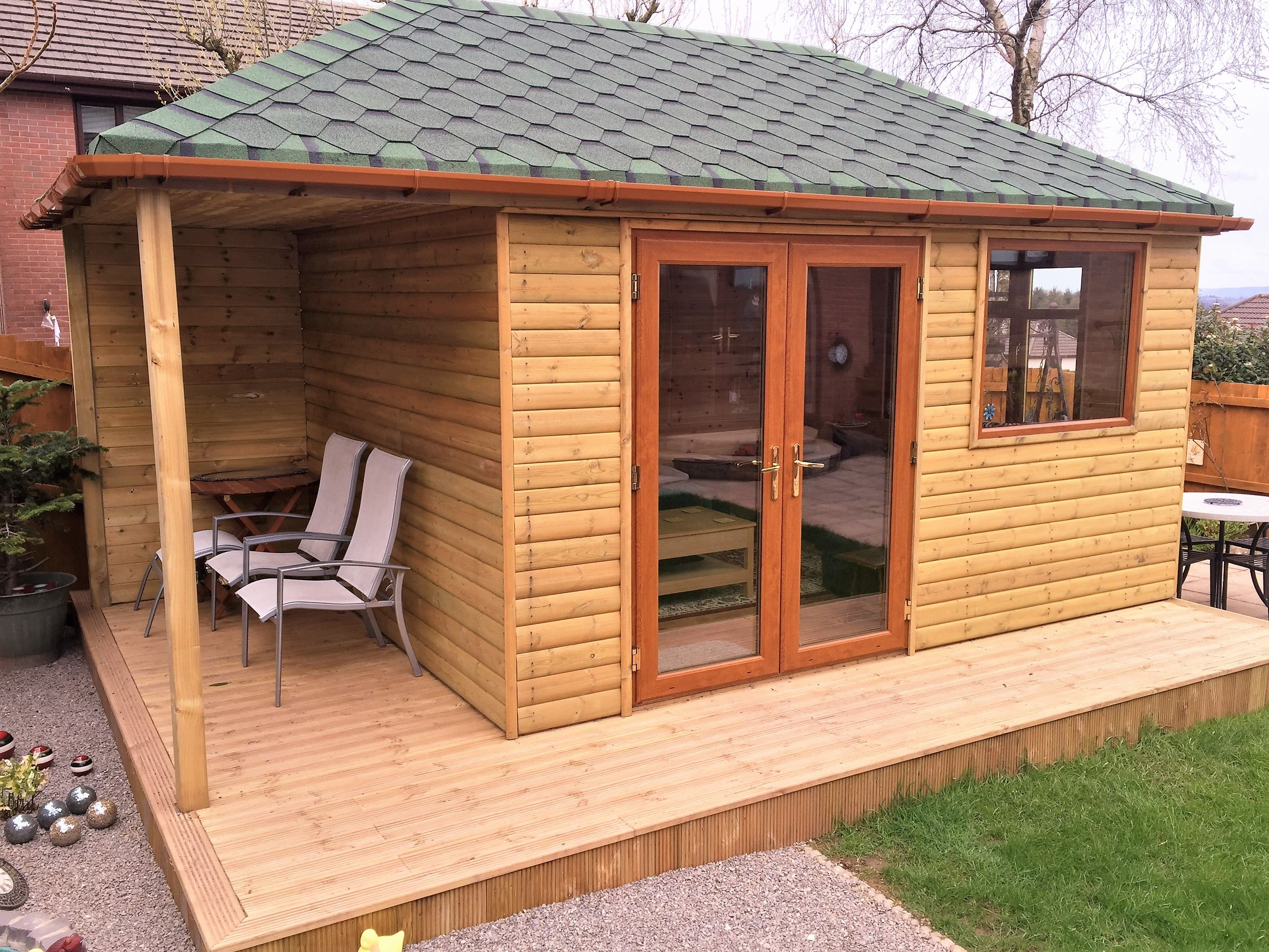 Garden Room Made To Order By Davies Timber Wales Ltd,