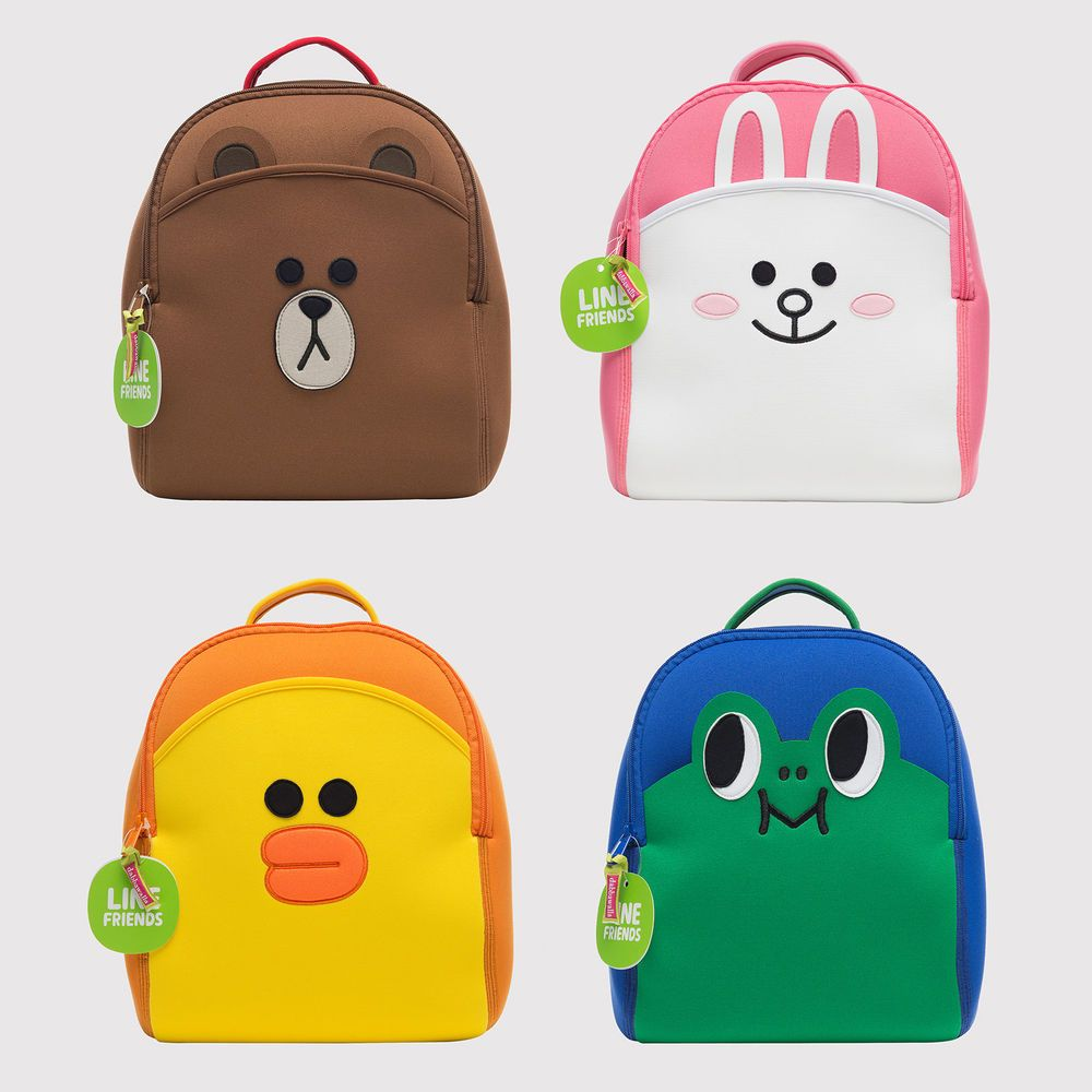 Details about LINE FRIENDS x Dabbawalla Character Lightweight Kids ...