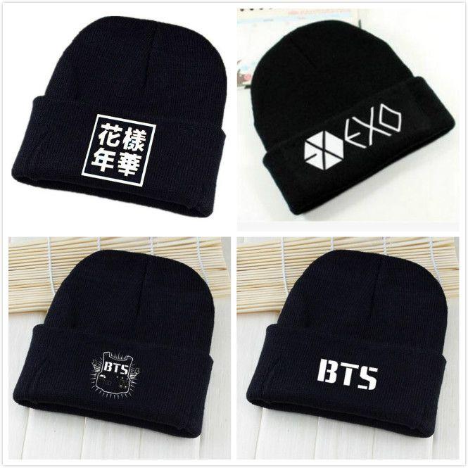 d7f5140d30c EXO Hat Printing Letter Casual Unisex Cotton Hat Cartoon Cute Pt.2 Caps  K-pop Bangtan Boys Kpop Hat SUGA JUNGKOOK JIN V J-HOPE