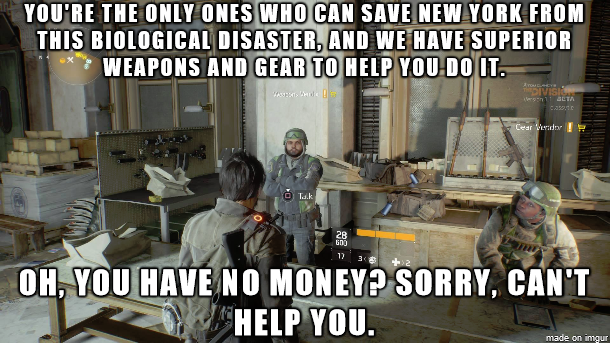 My Experience Playing The Division Beta So Far Division Games