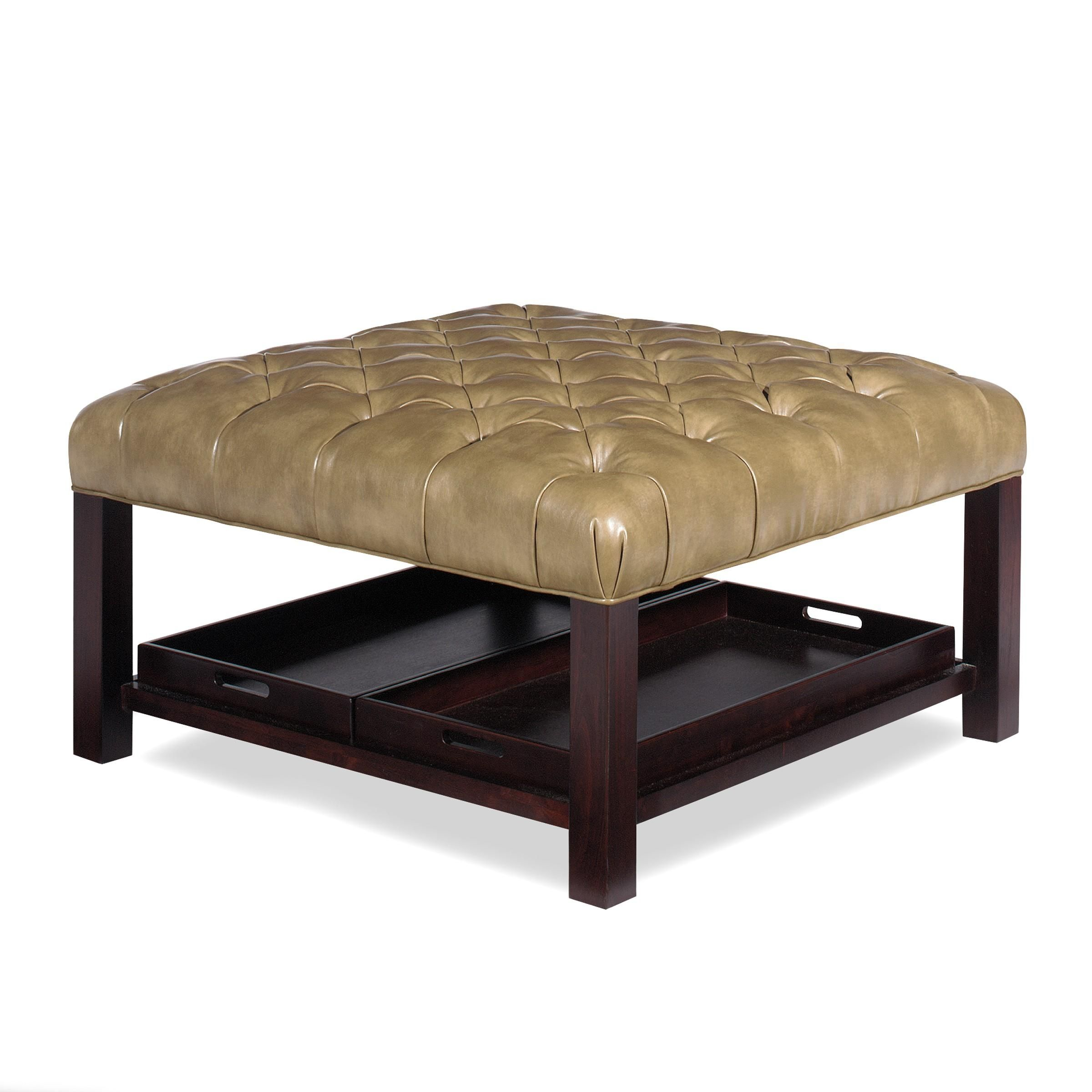 Fabulous Accent Ottomans Ottoman With Storage Trays By Craftmaster Gmtry Best Dining Table And Chair Ideas Images Gmtryco