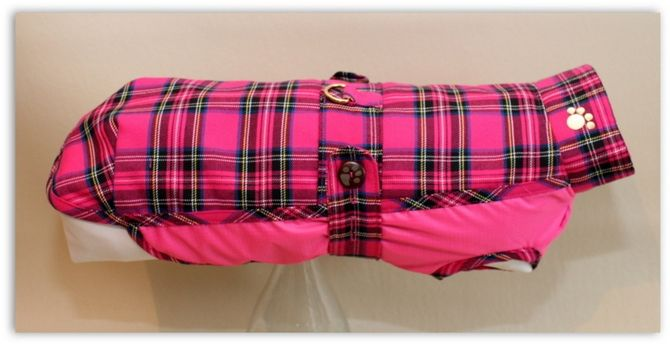 New Puppichic Dachshund Collection<div><br></div><div>These gorgeous new coats are made from a top fabric of tartan wool, lined with a waterproof layer, with a waterproof underbelly lined with fleece for a little extra warmth.</div><div><br></div><div>They are easy for your pup to step into, and fasten at the side with a sturdy zip with the added feature of button-up tummy straps making them more adjustable for comfort.</div><div><br></div><div>The tummy straps also adds extra strength ...